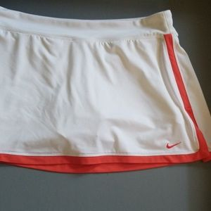 Nike large dri fit active skort